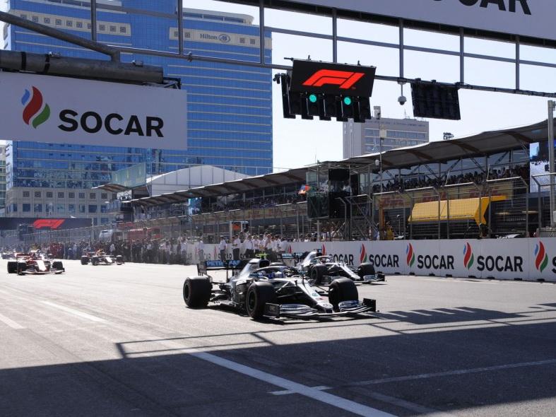 Боттас стал победителем Гран-при Формулы 1 Азербайджан