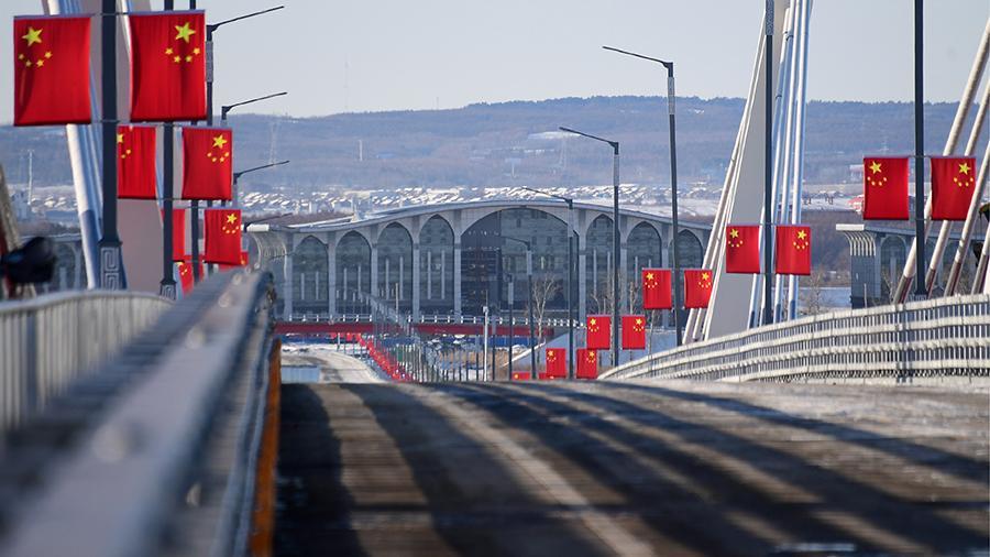 Российско-китайскую границу частично закроют с 31 января