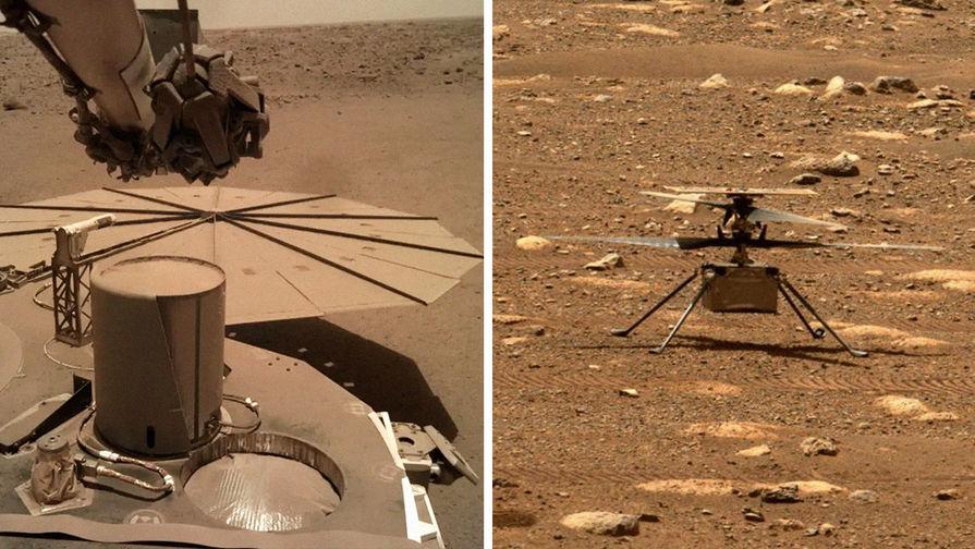 Зонд замело, вертолет не летит: в NASA рассказали о проблемах на Марсе
