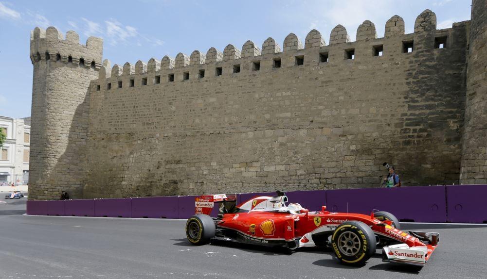 Стартует Гран-при Азербайджана